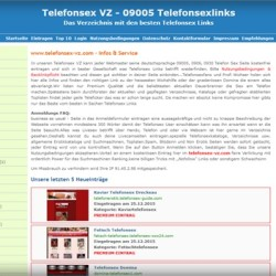 Telefonsex VZ - die besten telefonsex Links