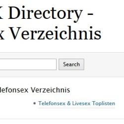 Telefonsex Directory - Telefonsex Verzeichnis